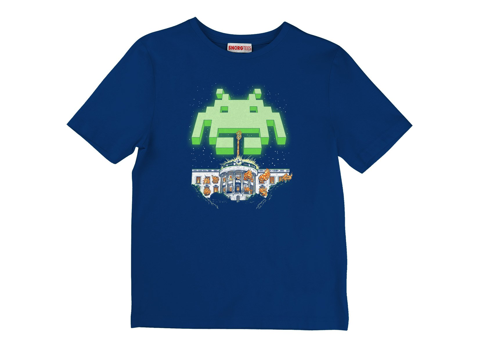 Invader Day on Kids T-Shirt