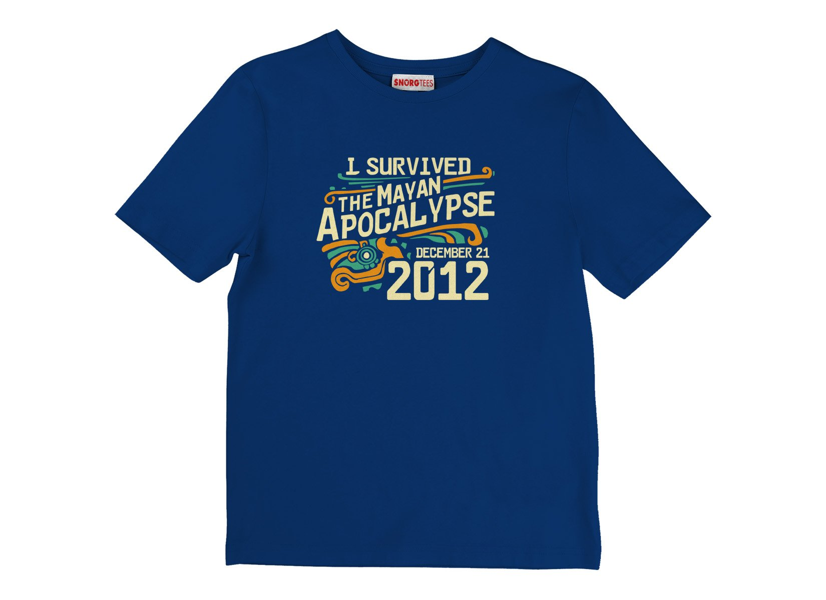 I Survived The Mayan Apocalypse on Kids T-Shirt