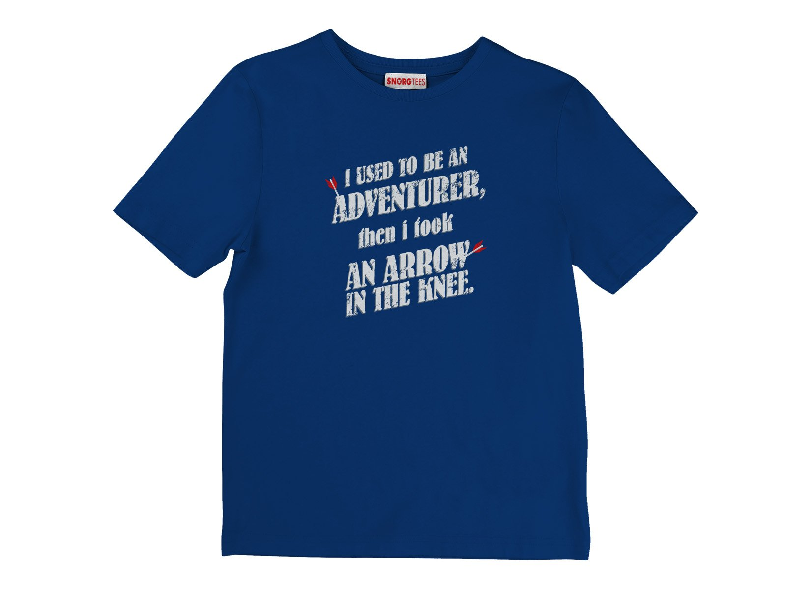 I Used To Be An Adventurer on Kids T-Shirt