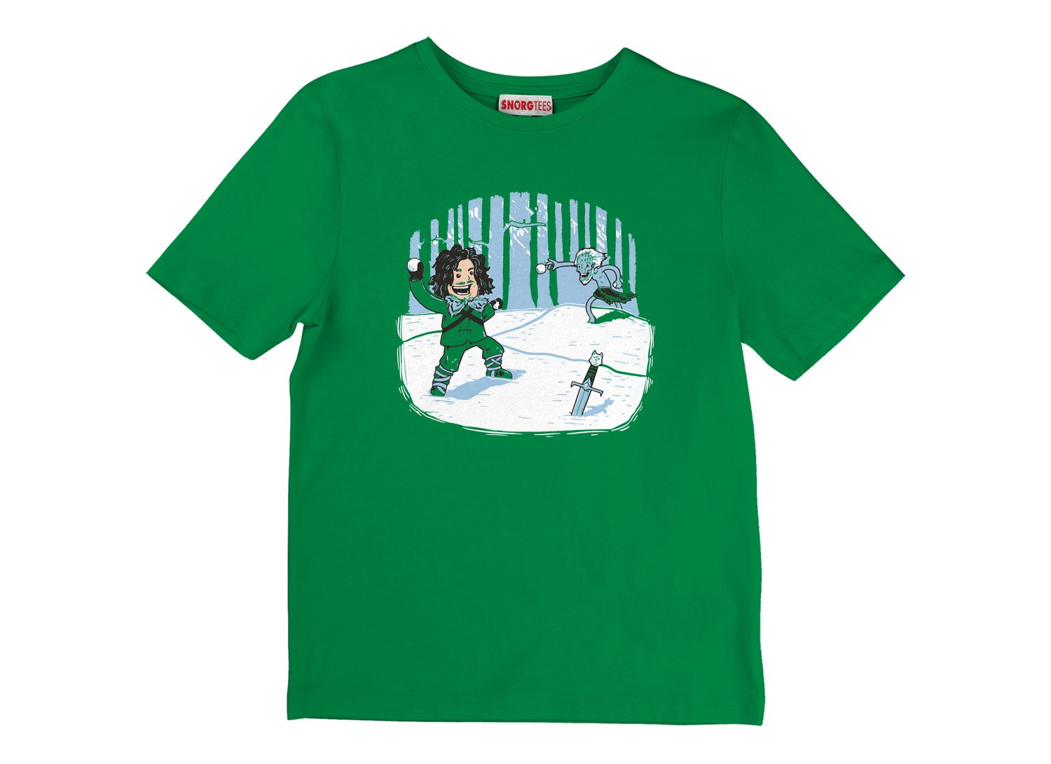 Jon Snowball on Kids T-Shirt
