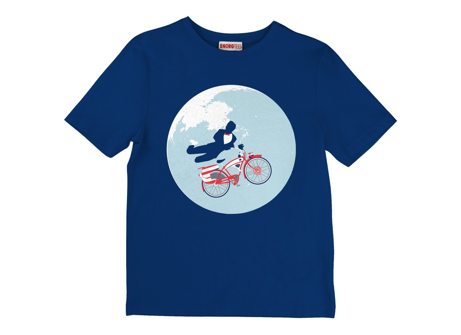 Jump The Moon on Kids T-Shirt
