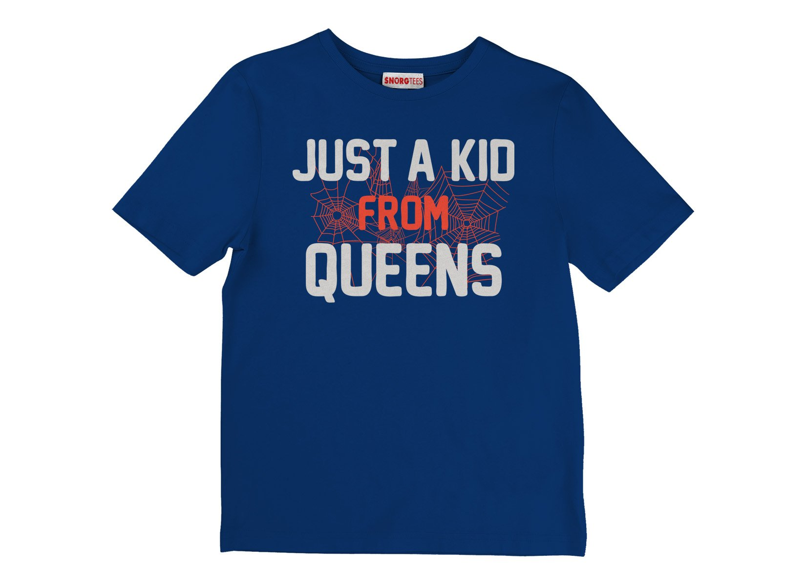Just A Kid From Queens on Kids T-Shirt