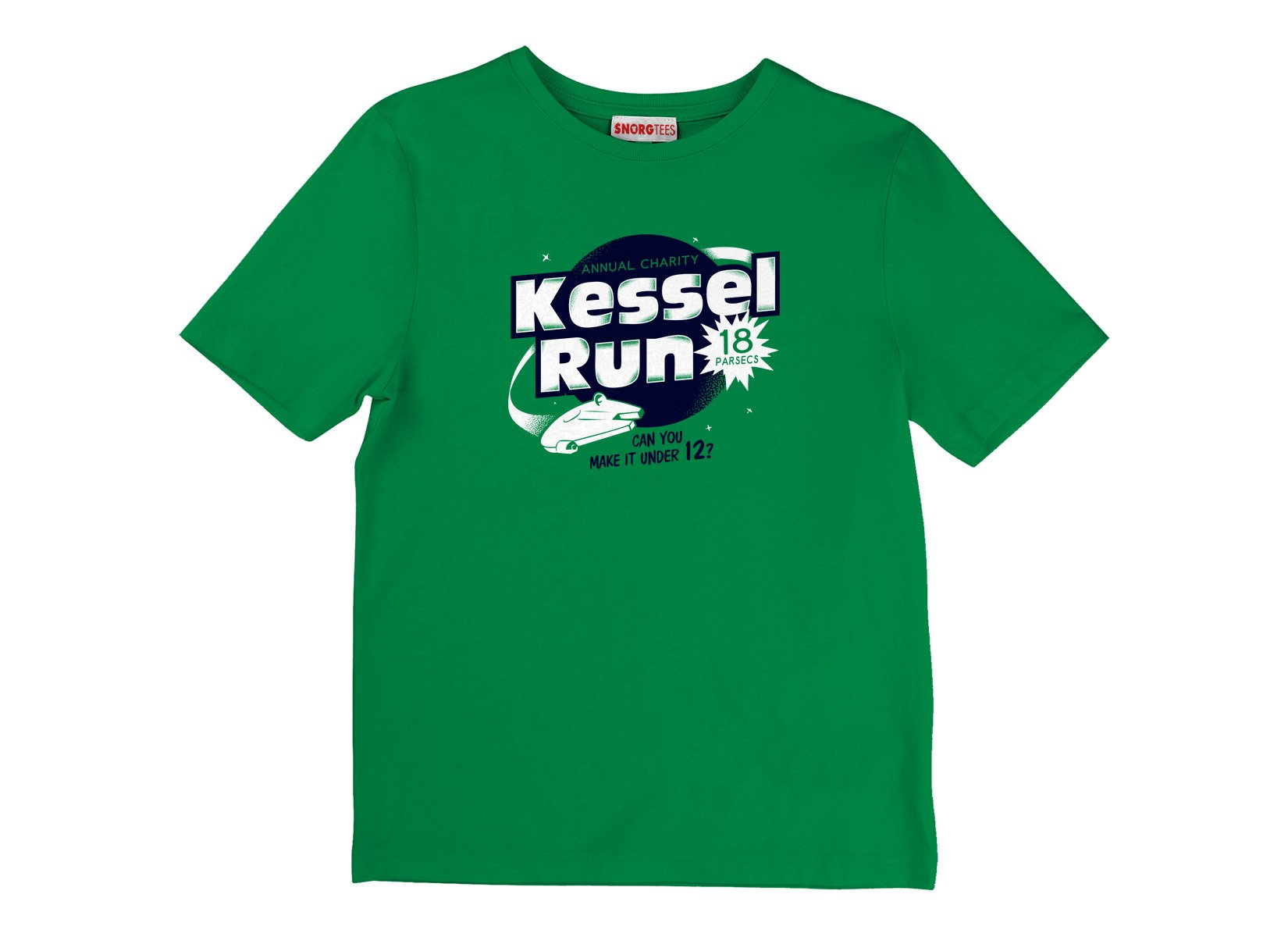 Kessel Run on Kids T-Shirt