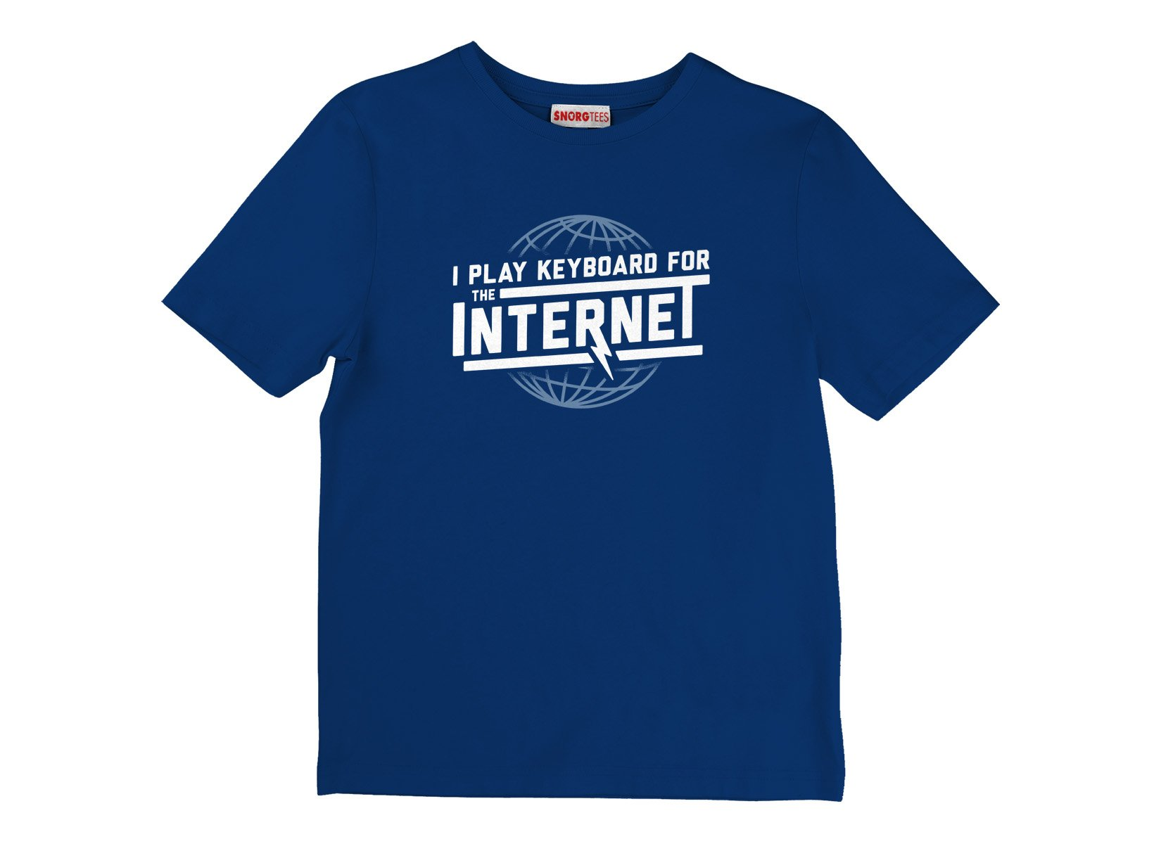 I Play Keyboard For The Internet on Kids T-Shirt