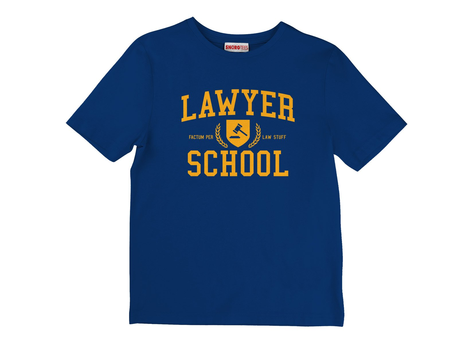 Lawyer School on Kids T-Shirt