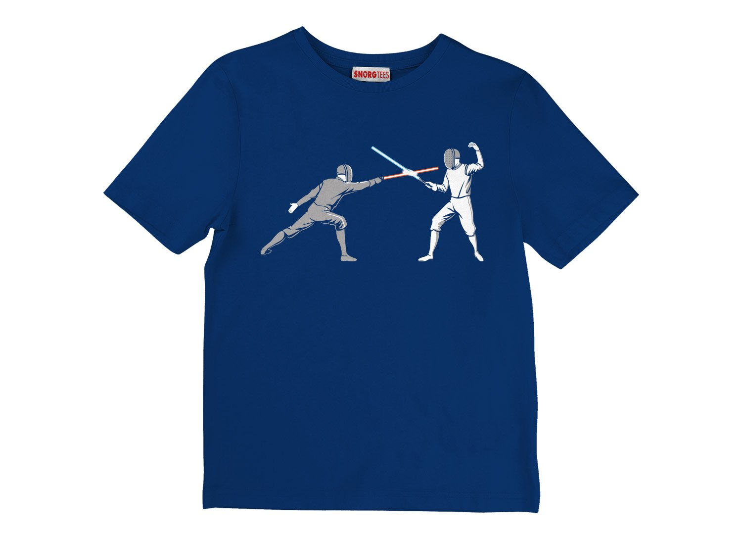 Light Fencing on Kids T-Shirt