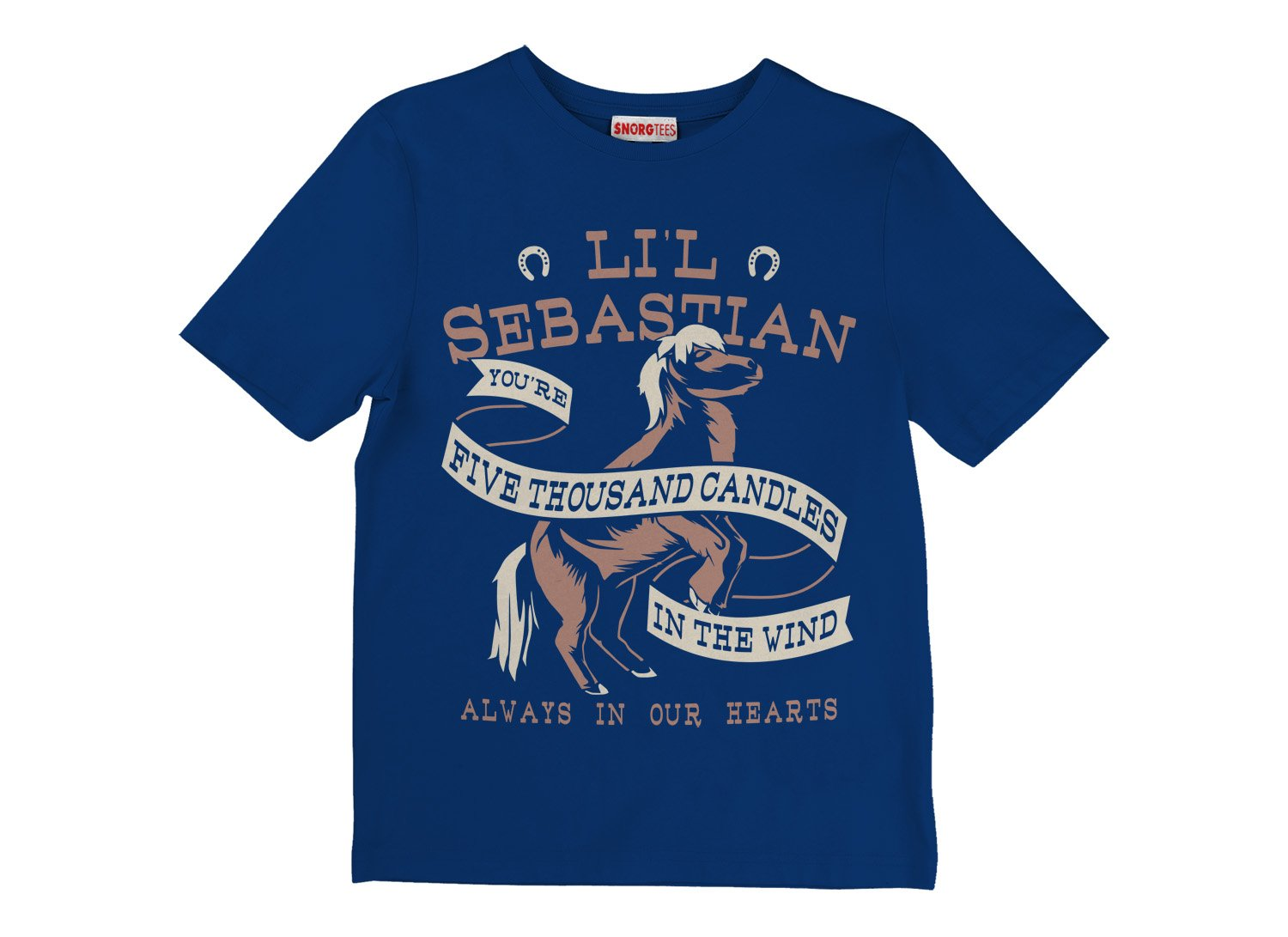 Li'l Sebastian on Kids T-Shirt