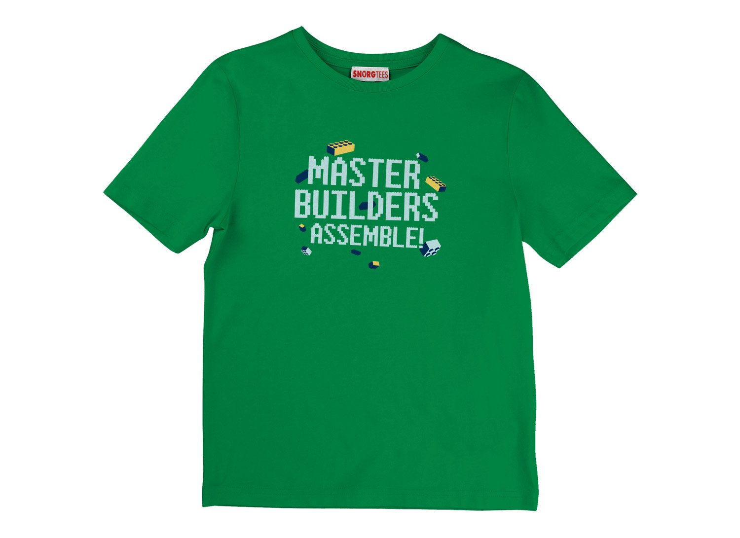Master Builders Assemble! on Kids T-Shirt