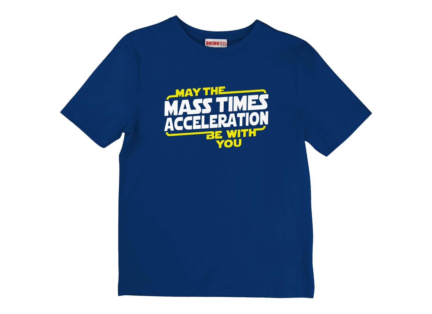 May The Mass x Acceleration on Kids T-Shirt