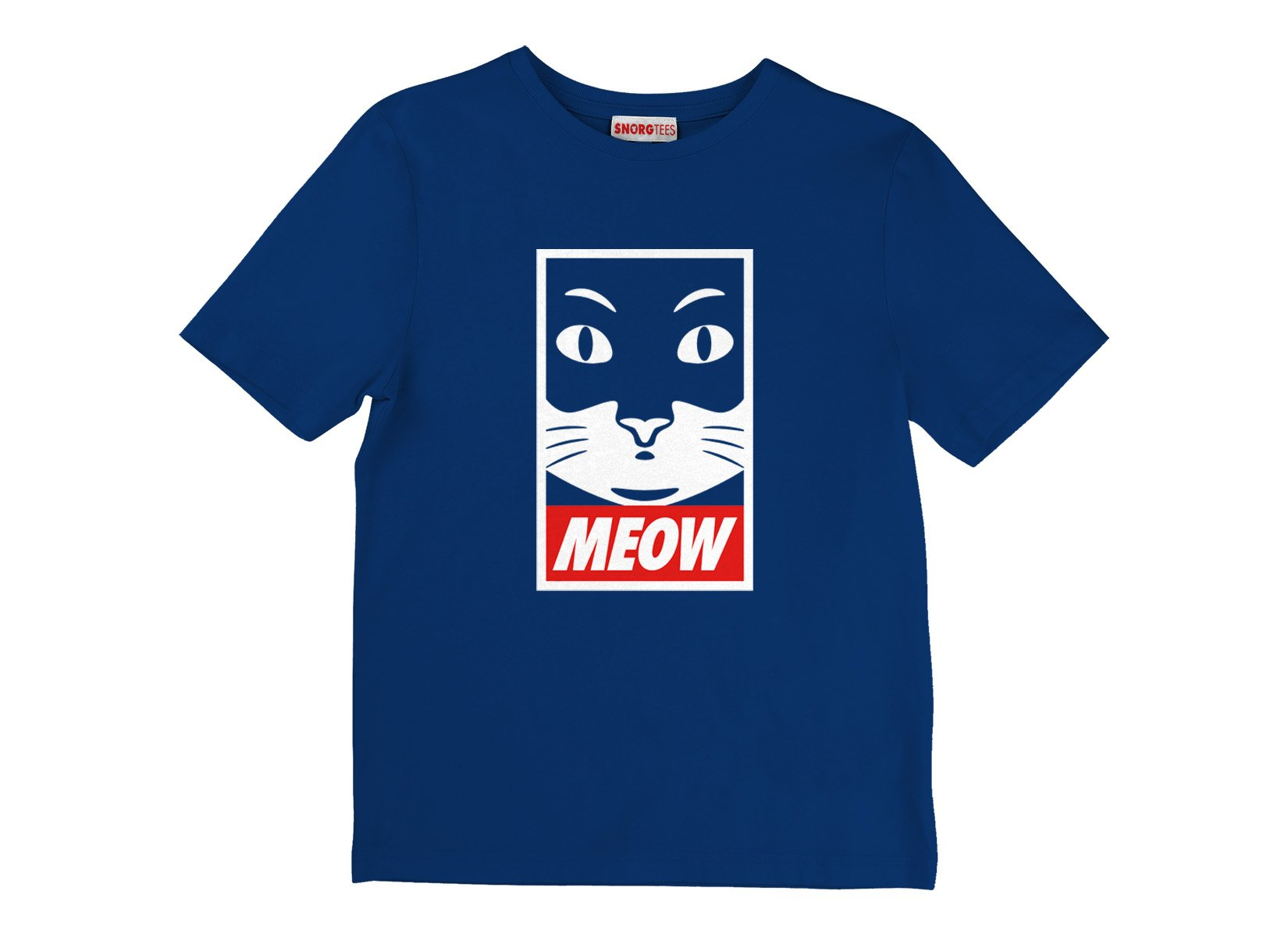 Meow on Kids T-Shirt