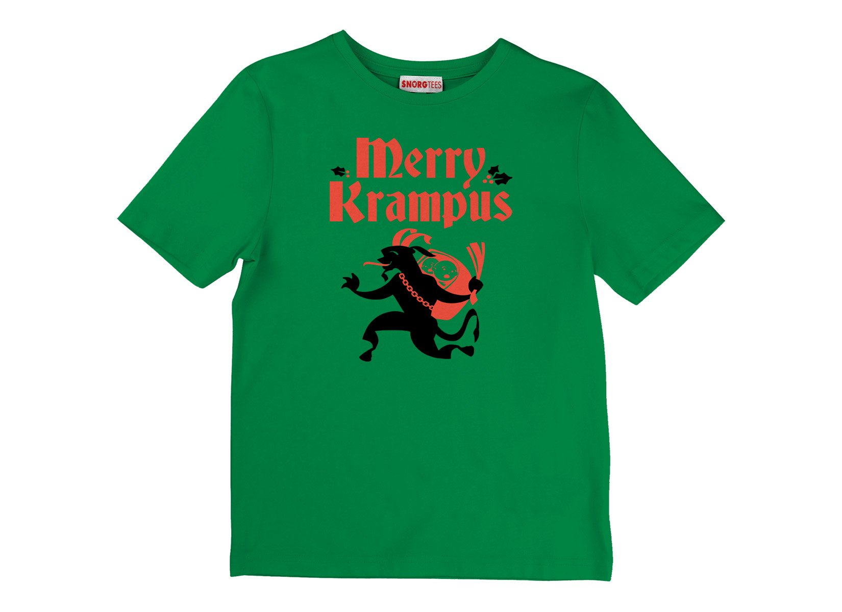 Merry Krampus on Kids T-Shirt