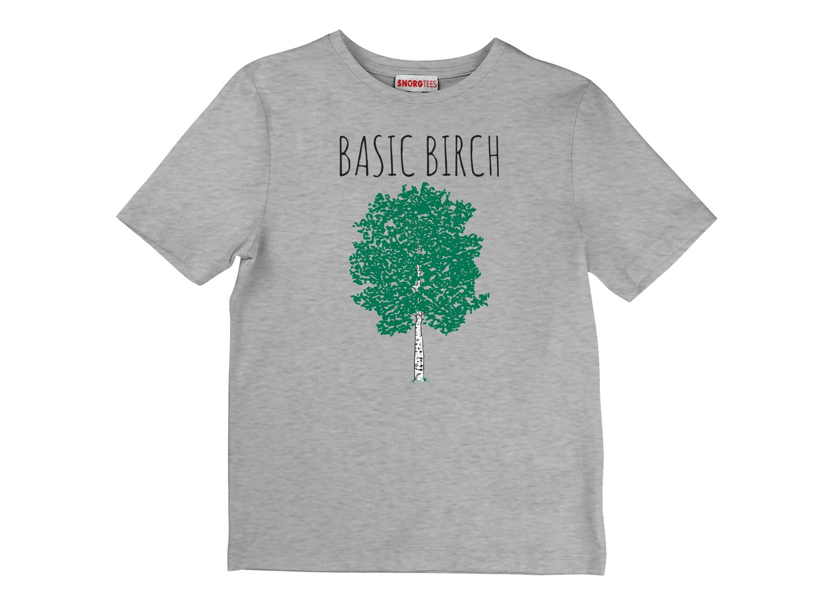Basic Birch on Kids T-Shirt