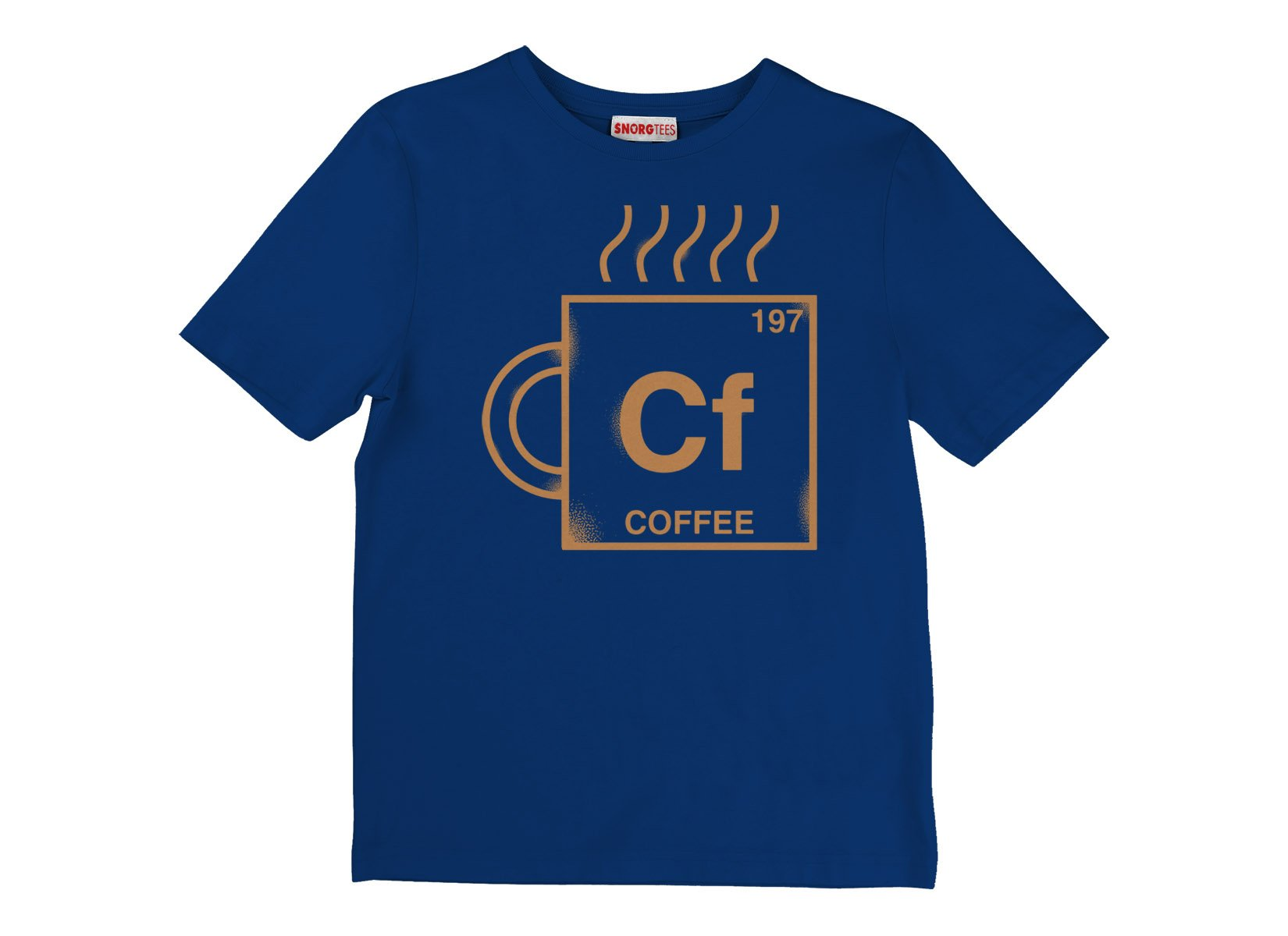 Coffee Element on Kids T-Shirt