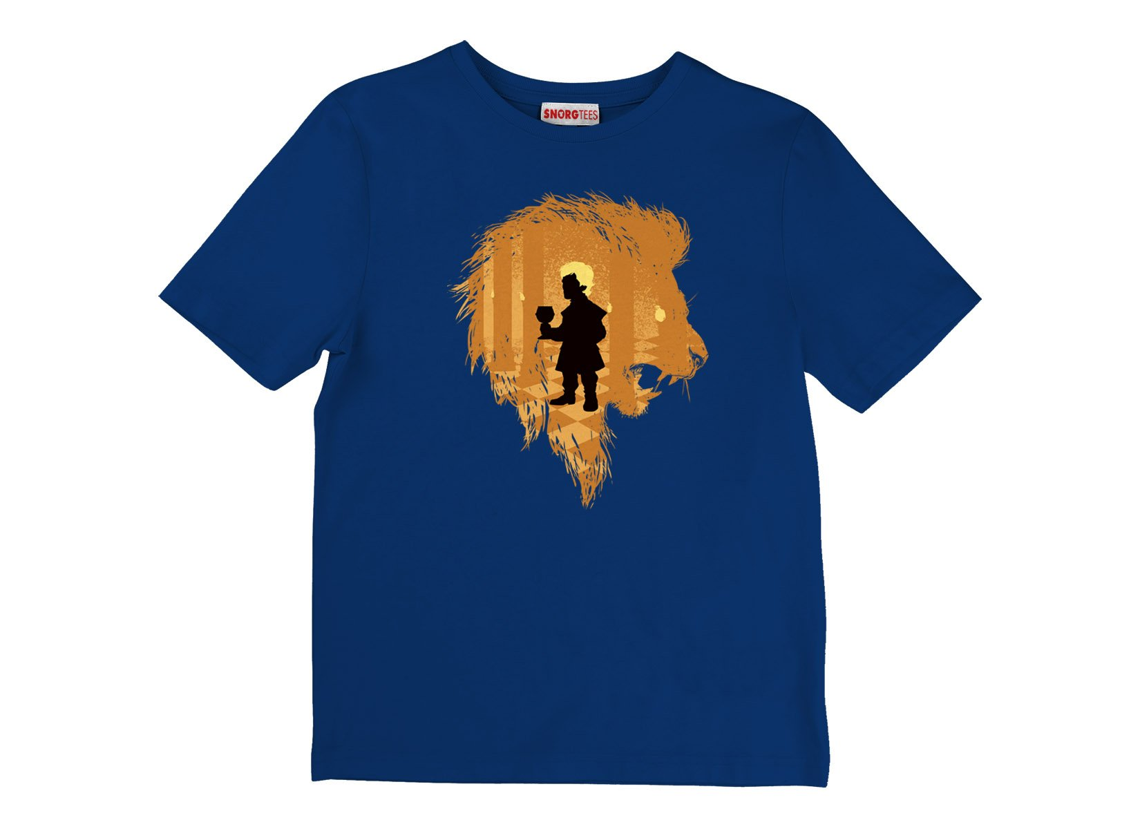The Lion on Kids T-Shirt