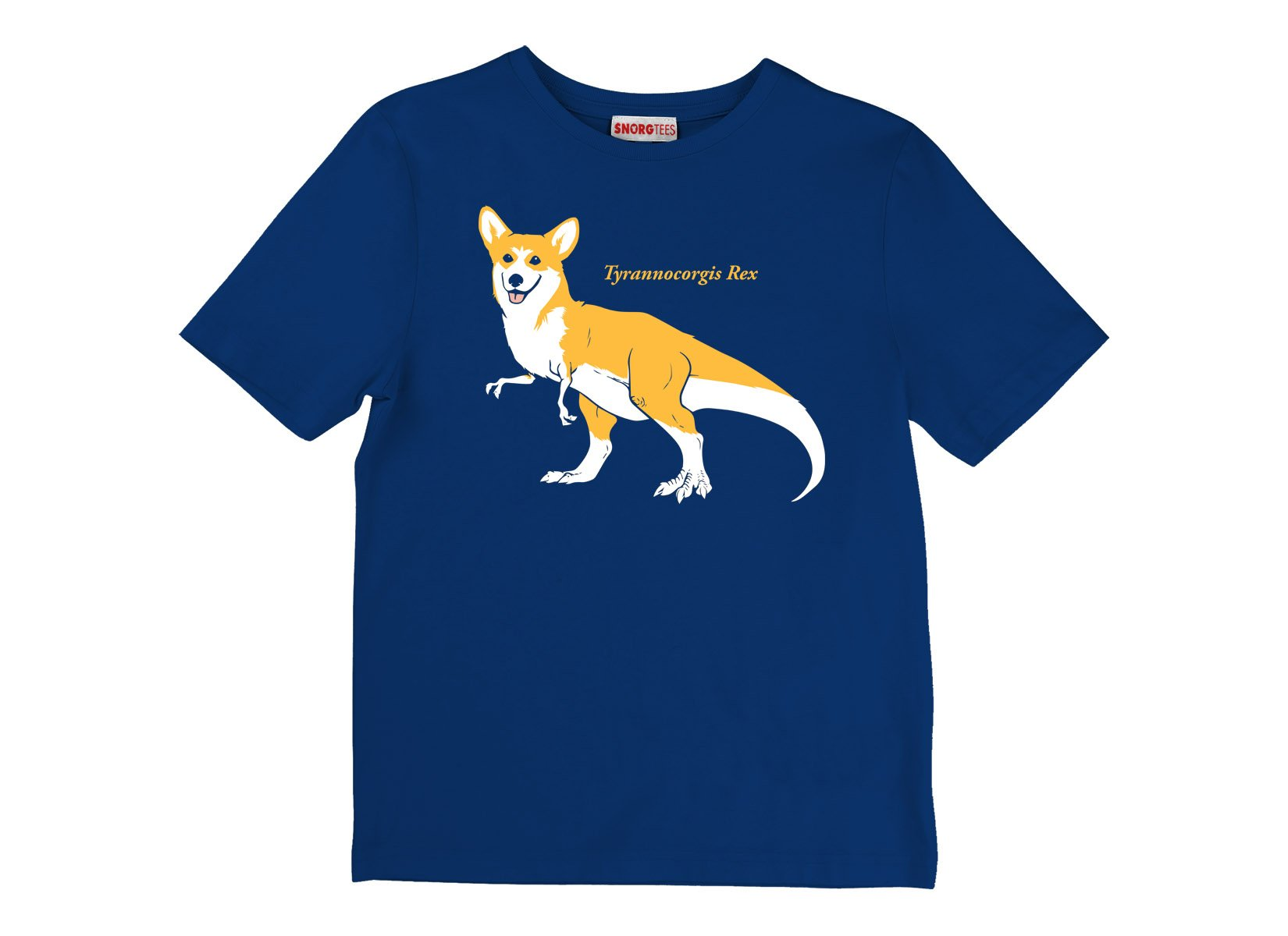 Tyrannocorgis Rex on Kids T-Shirt