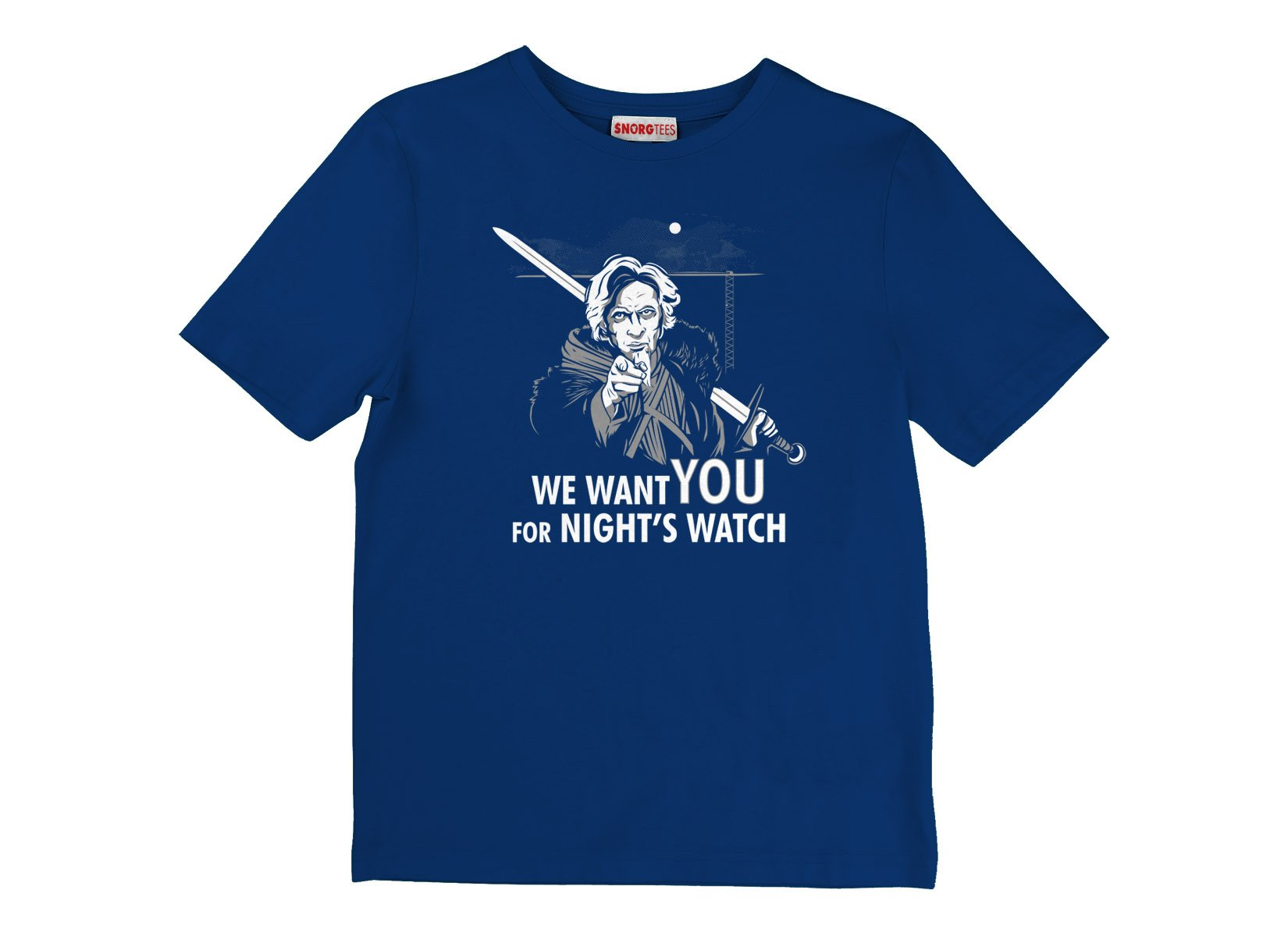 We Want You For Night's Watch on Kids T-Shirt
