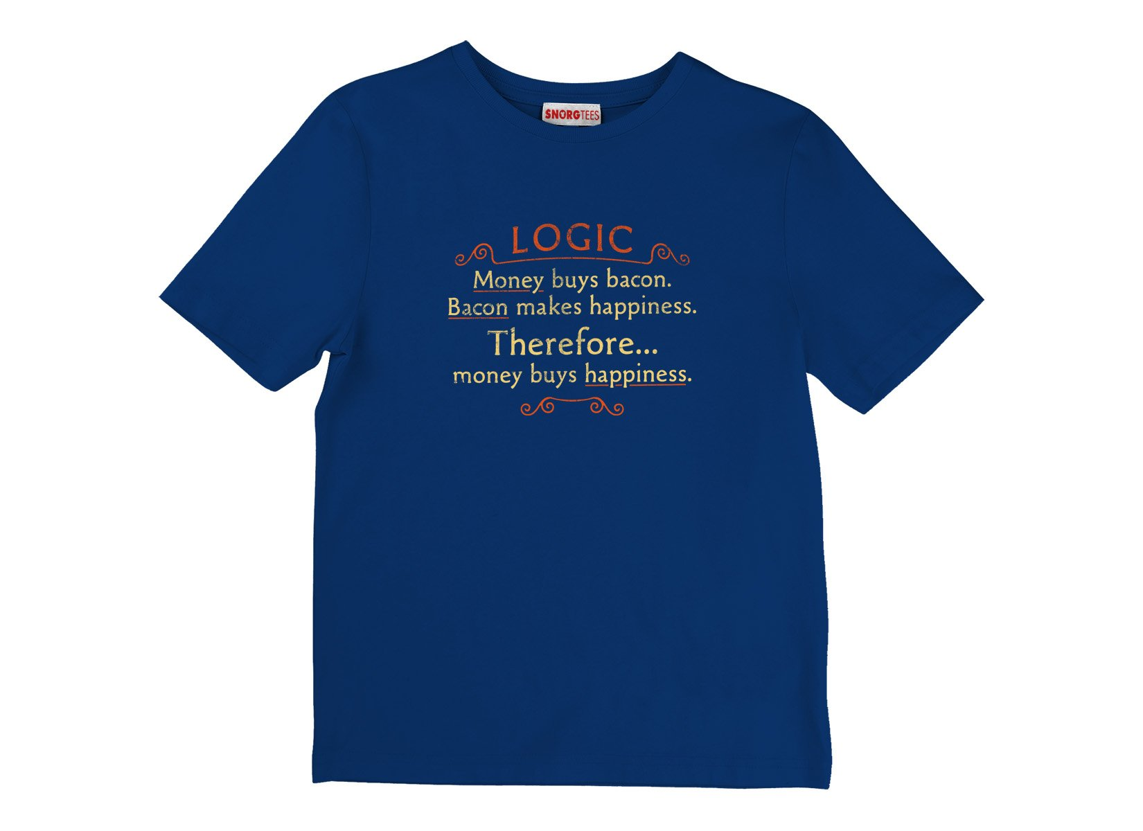Money Buys Happiness on Kids T-Shirt