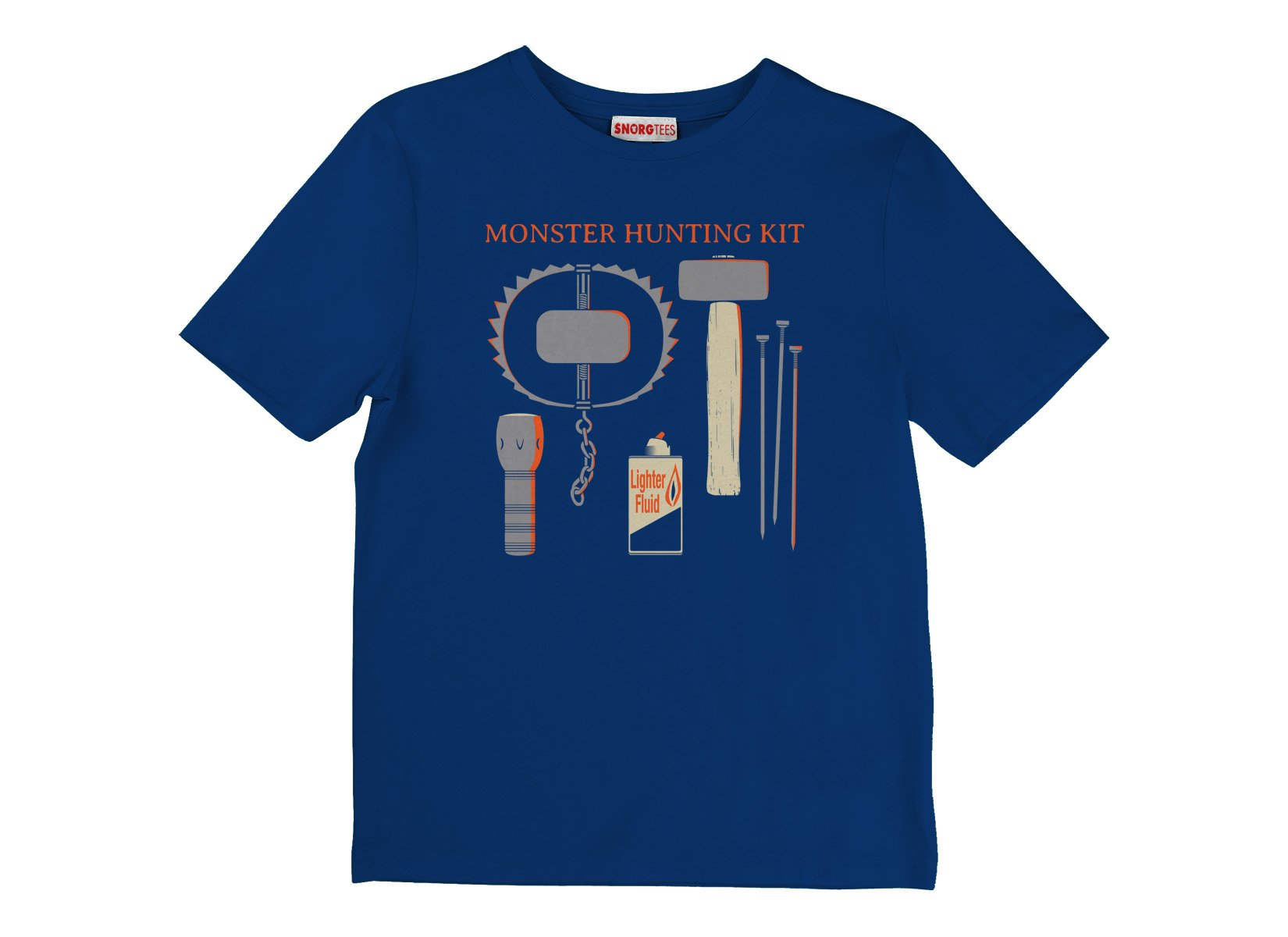 Monster Hunting Kit on Kids T-Shirt