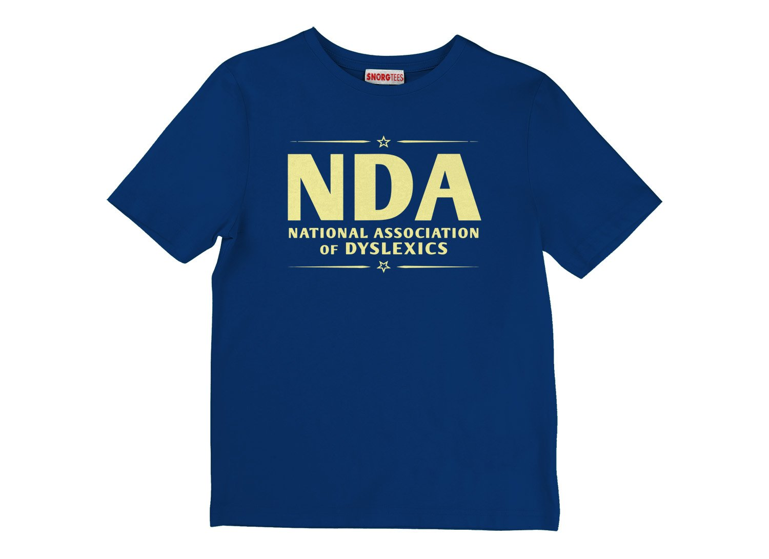 National Association of Dyslexics on Kids T-Shirt