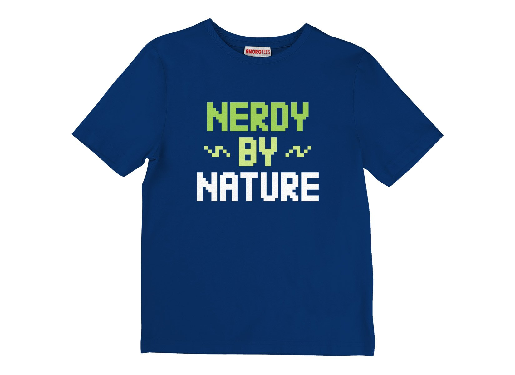 Nerdy By Nature on Kids T-Shirt