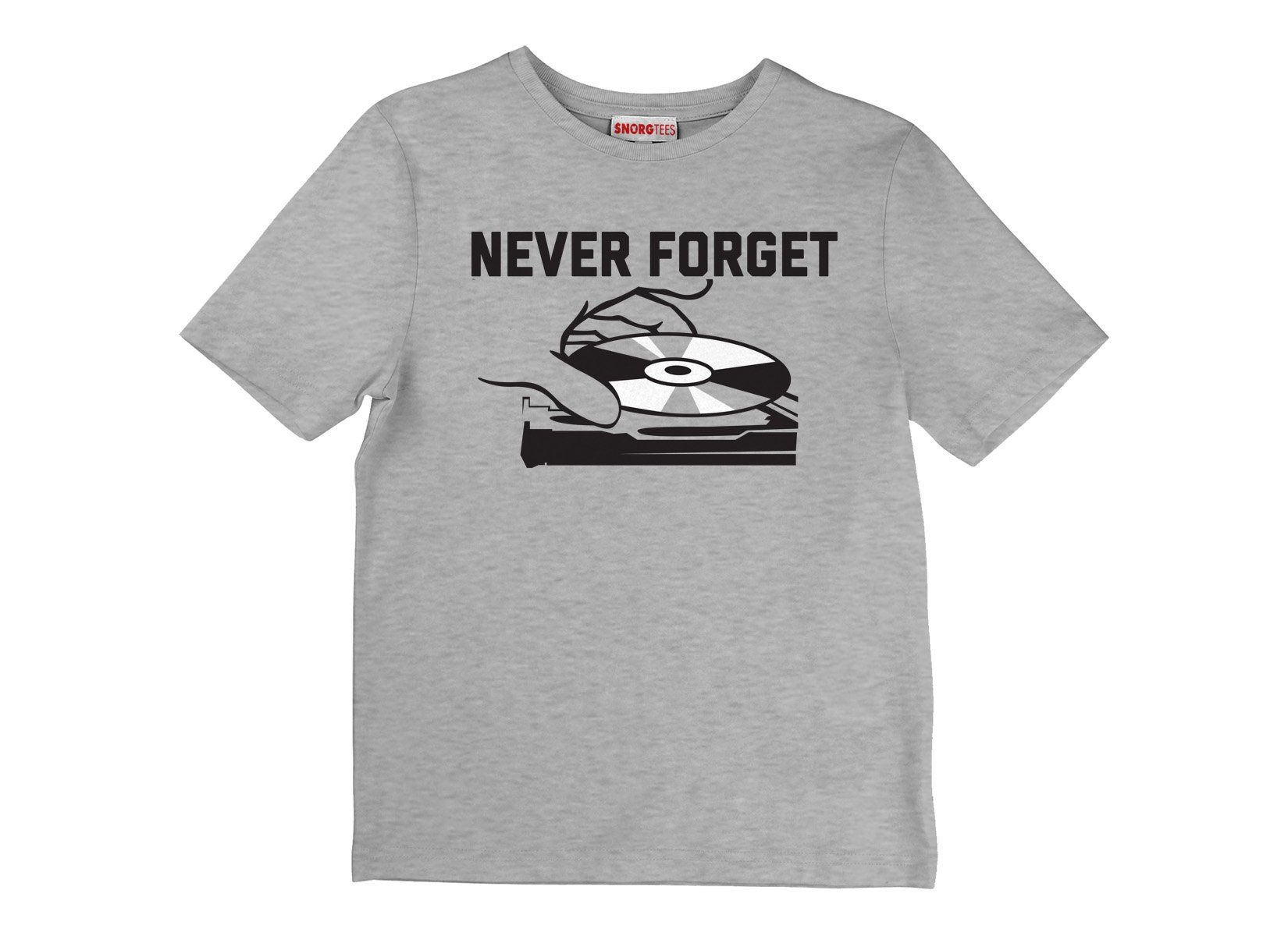 Never Forget on Kids T-Shirt