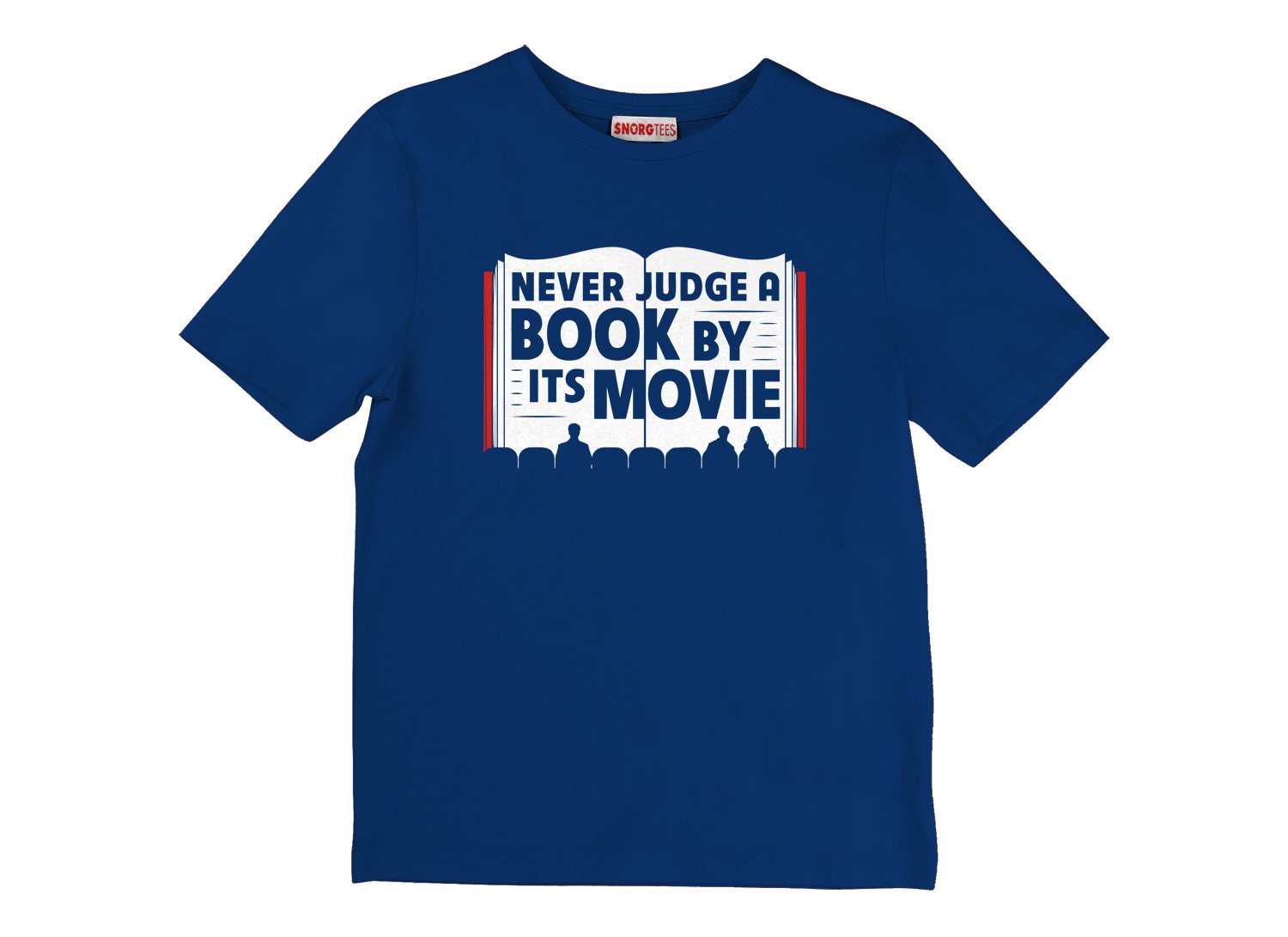 Never Judge A Book By Its Movie on Kids T-Shirt