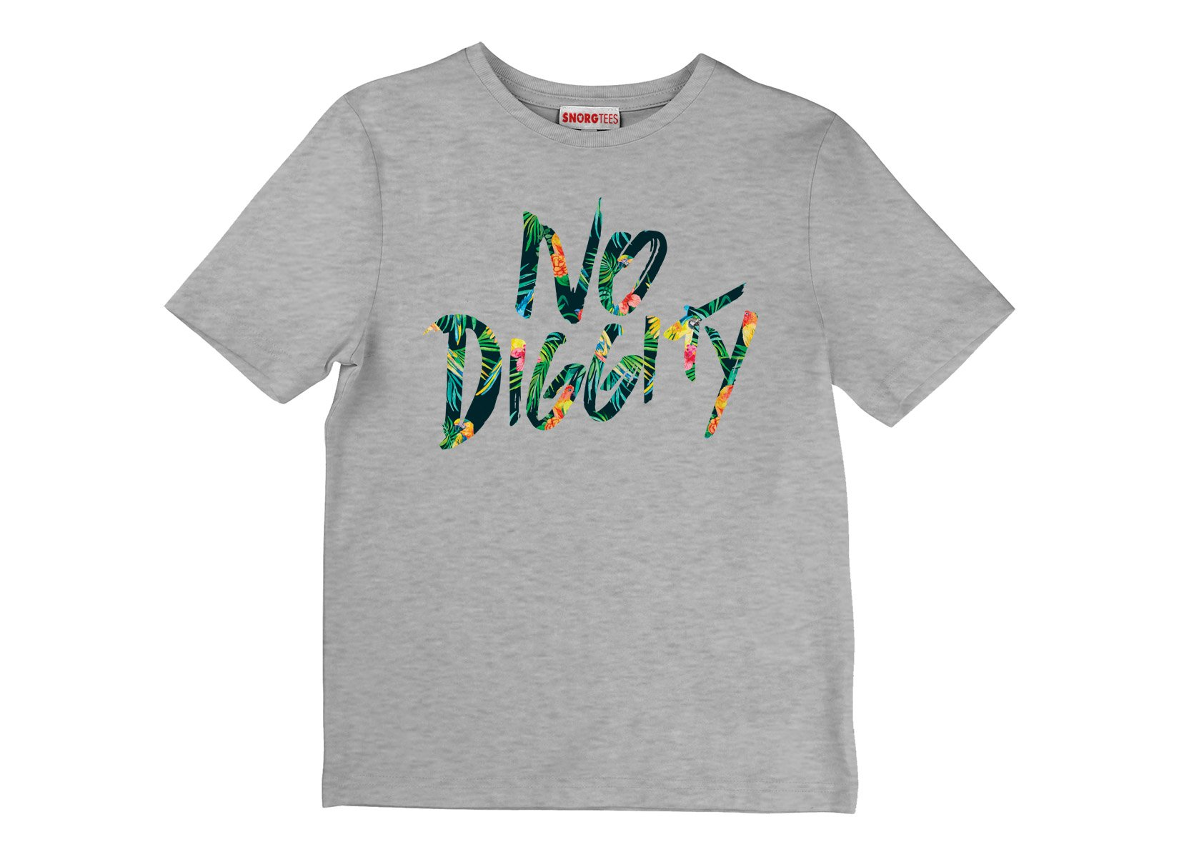 No Diggity on Kids T-Shirt