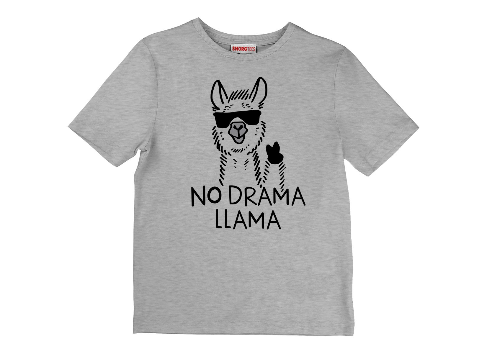 No Drama Llama on Kids T-Shirt