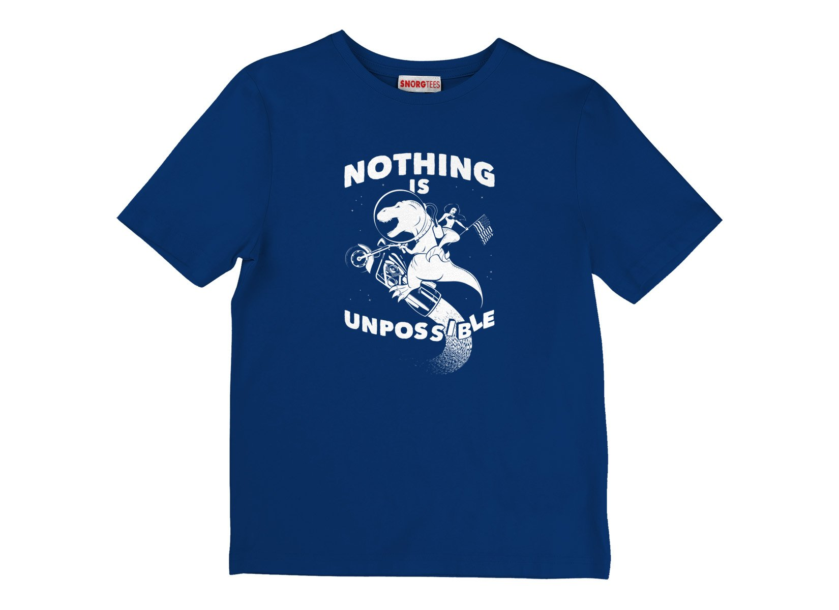 Nothing Is Unpossible on Kids T-Shirt