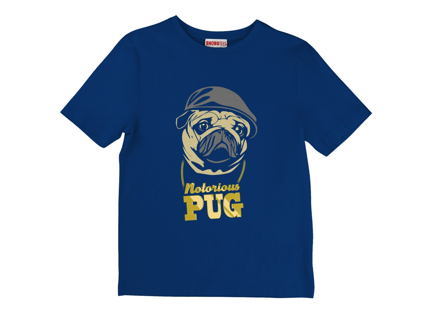 Notorious PUG on Kids T-Shirt