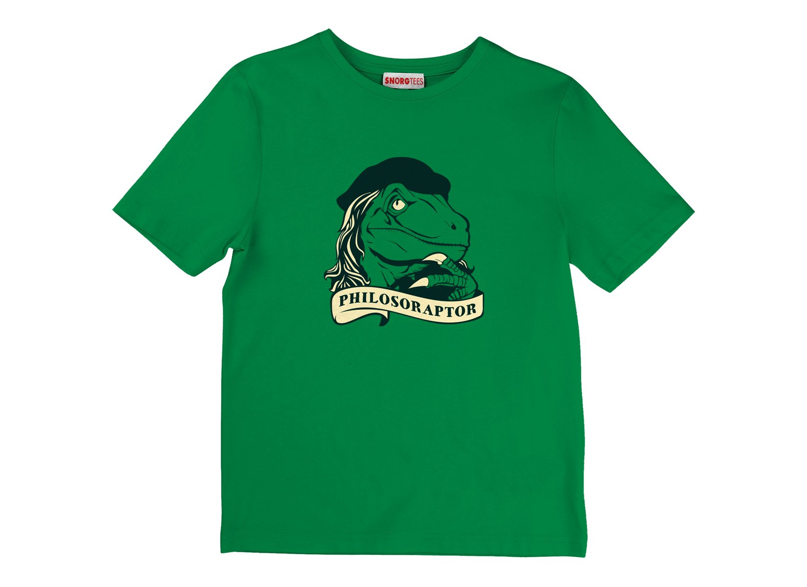 Philosoraptor on Kids T-Shirt