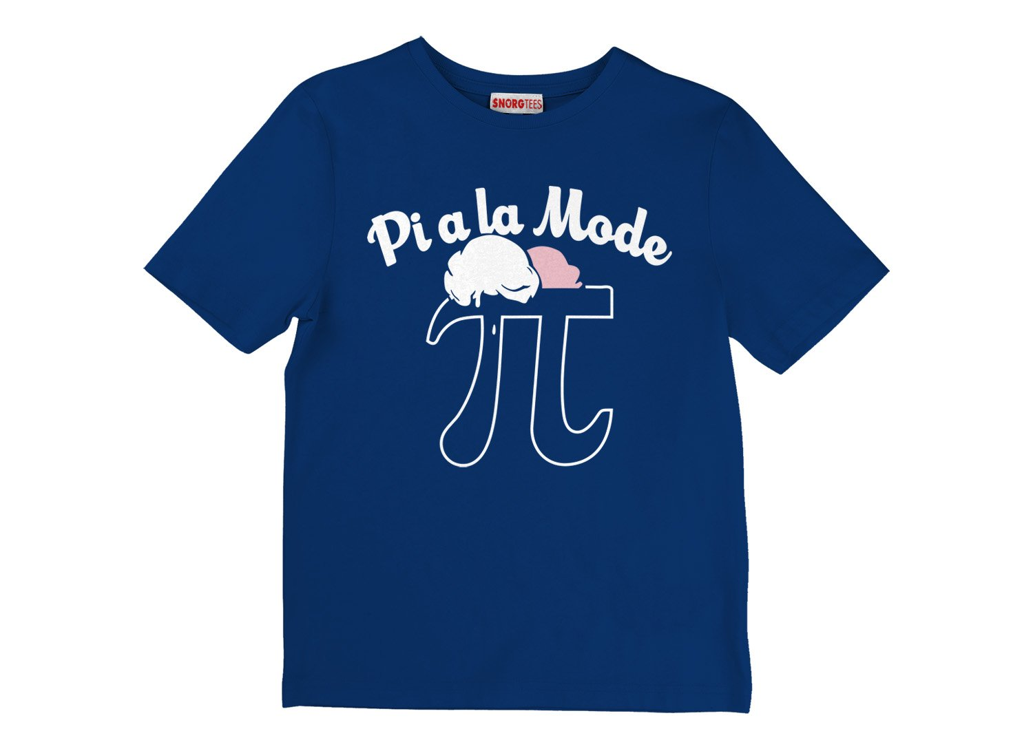 Pi a la Mode on Kids T-Shirt