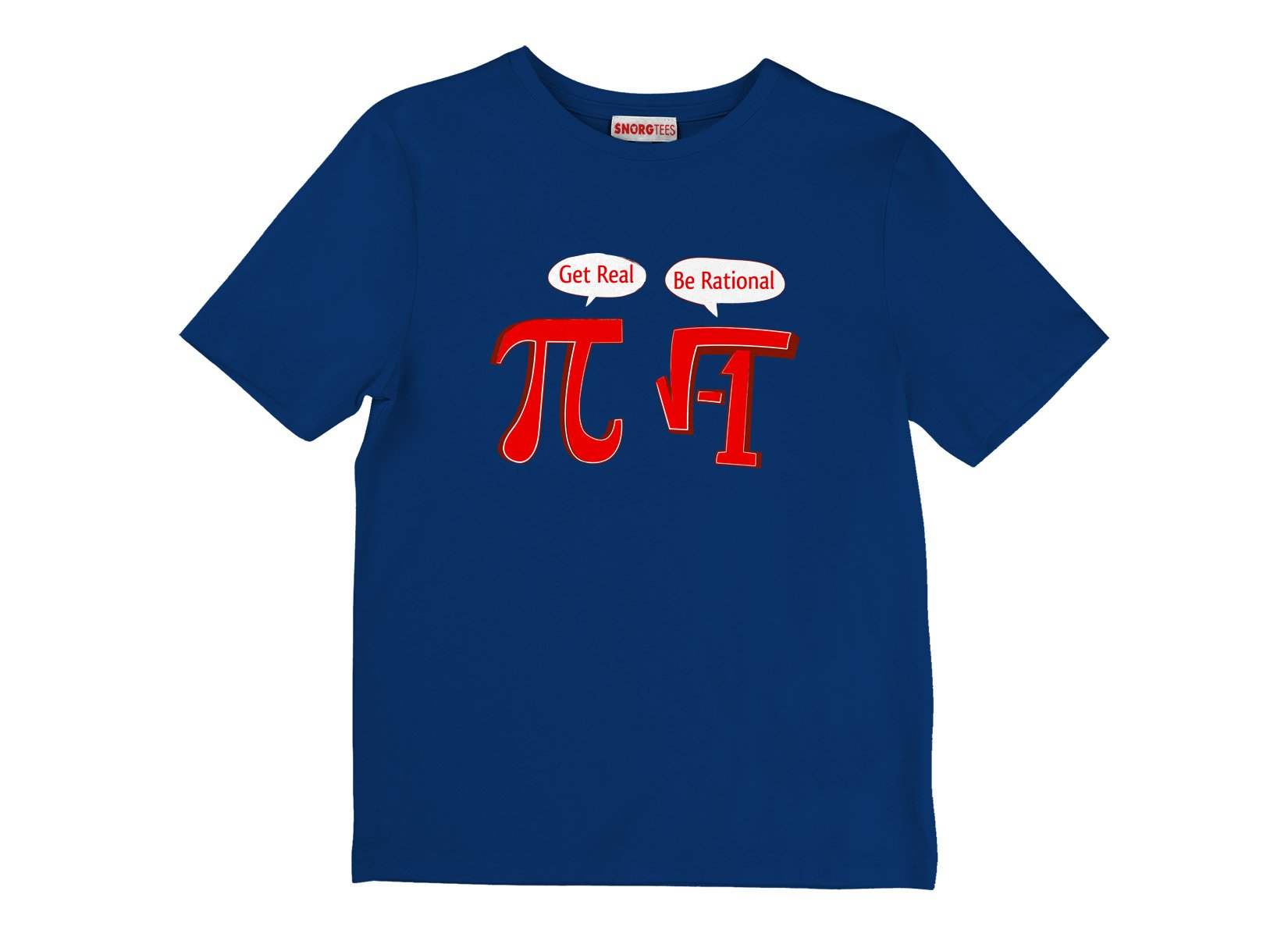 Pi Be Rational on Kids T-Shirt