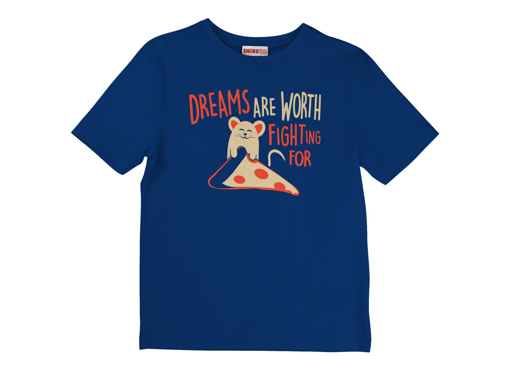 Dreams Are Worth Fighting For on Kids T-Shirt