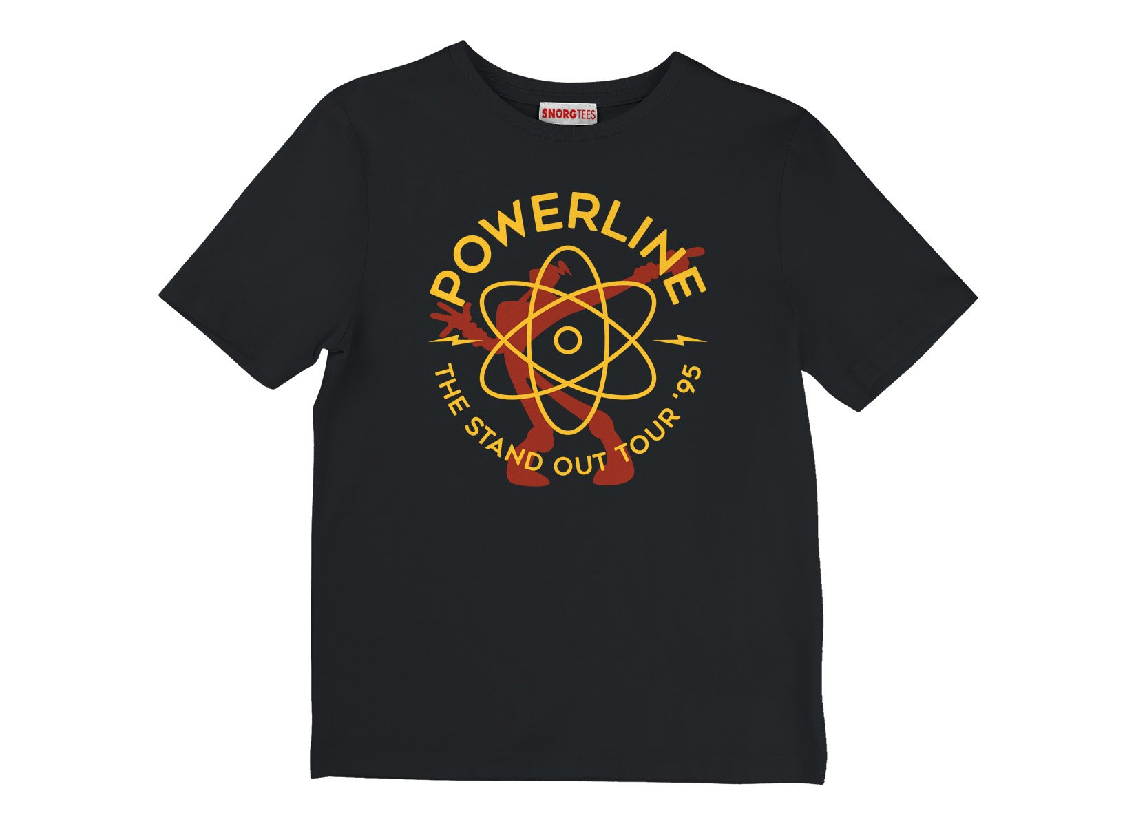 Powerline on Kids T-Shirt