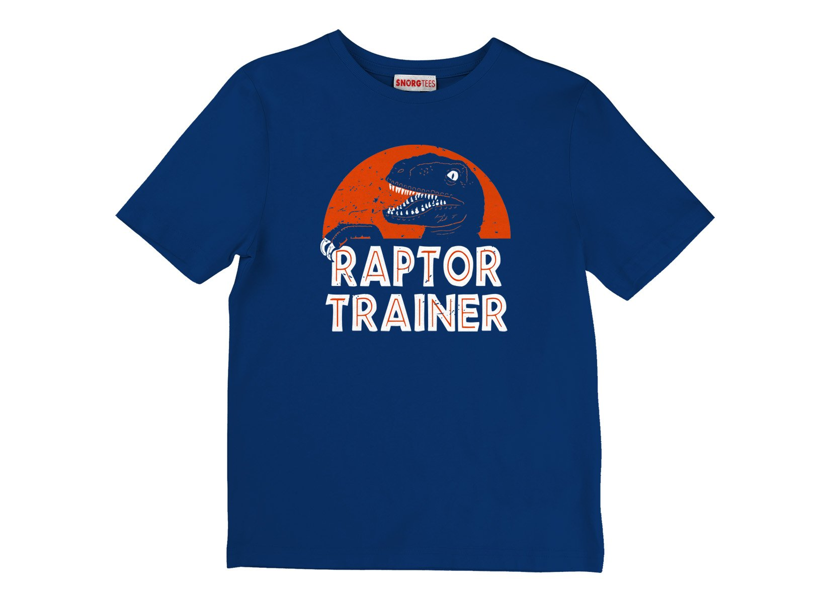 Raptor Trainer on Kids T-Shirt