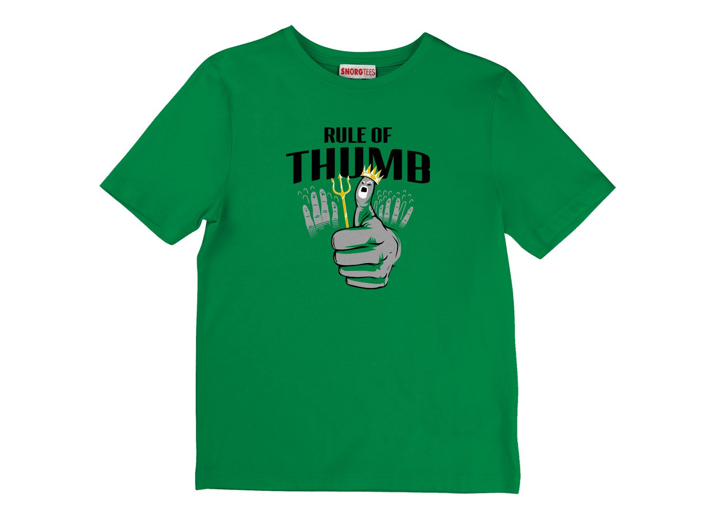 Rule Of Thumb on Kids T-Shirt