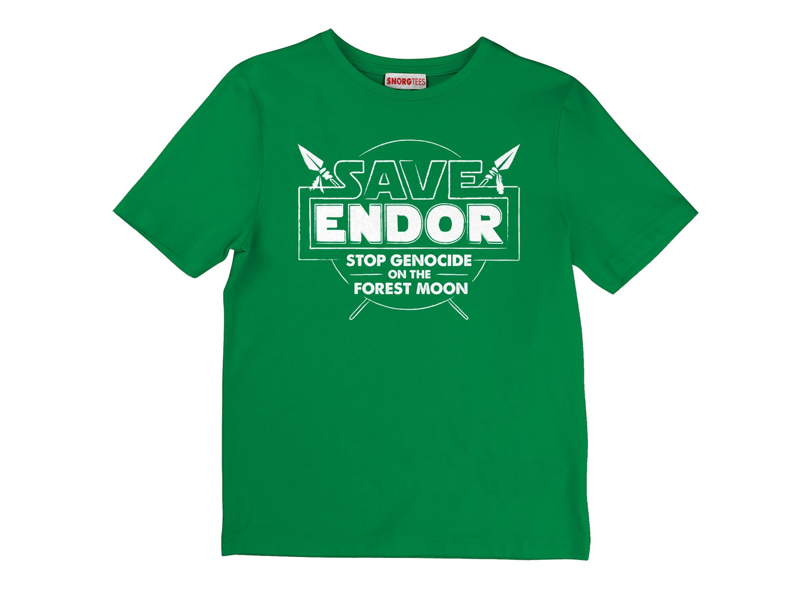 Save Endor on Kids T-Shirt