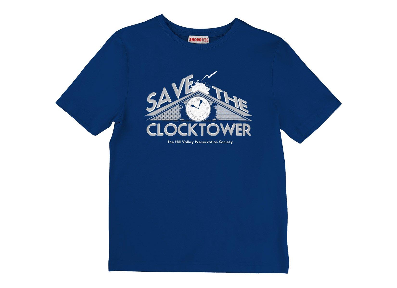 Save The Clocktower on Kids T-Shirt