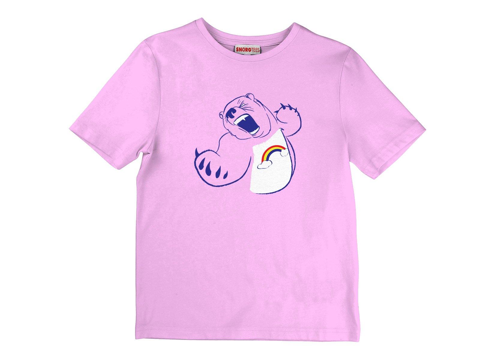 Scarebear on Kids T-Shirt