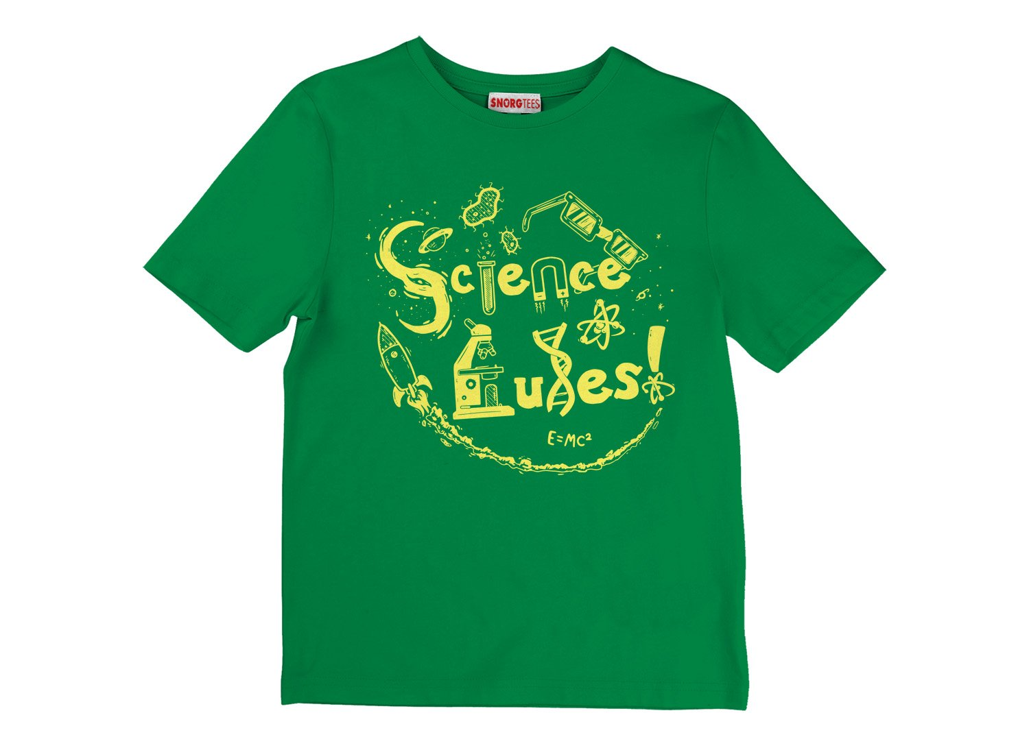 Science Rules! on Kids T-Shirt