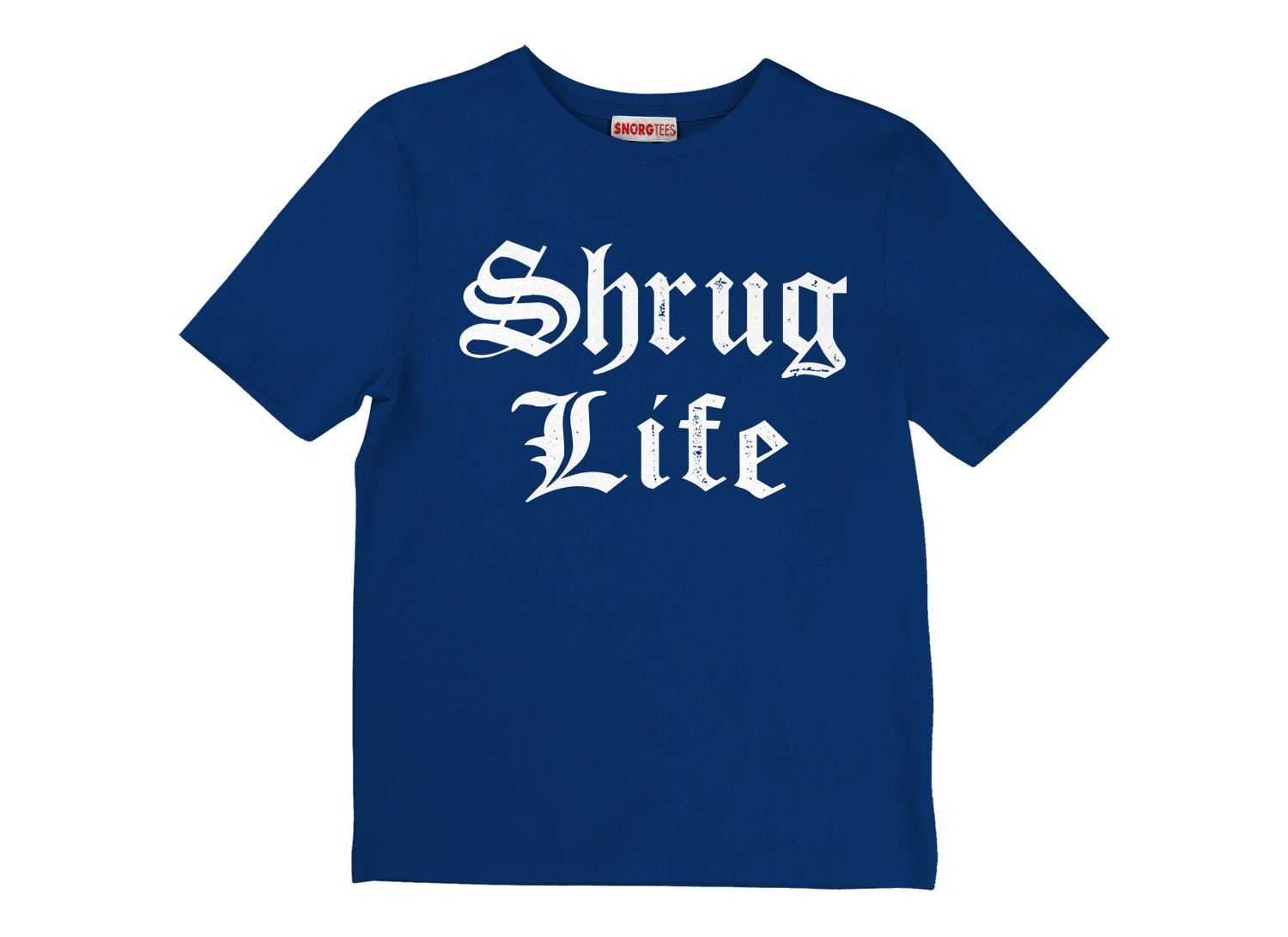 Shrug Life on Kids T-Shirt