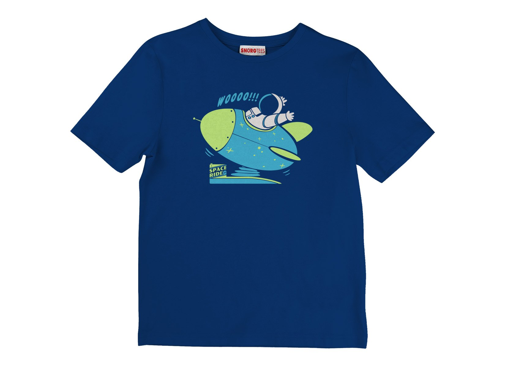 Space Ride on Kids T-Shirt
