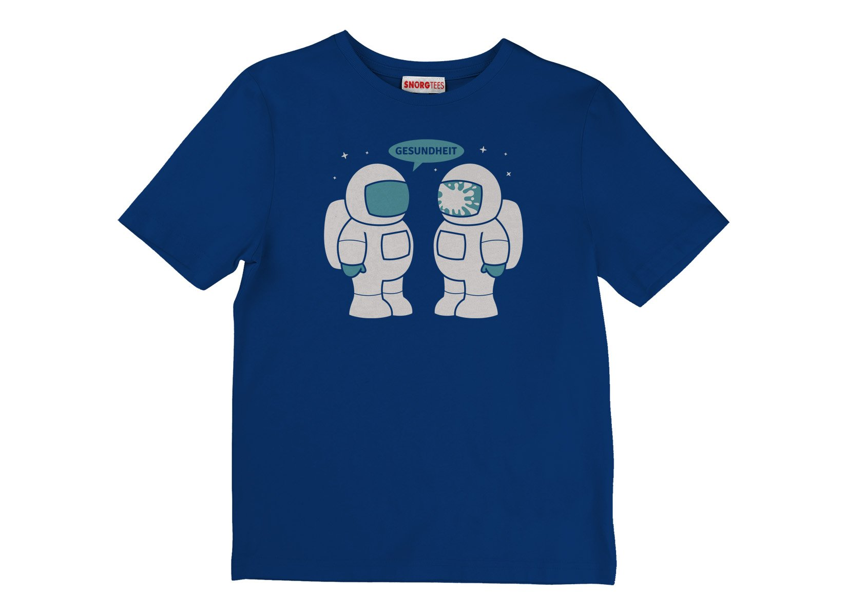 Space Sneeze on Kids T-Shirt