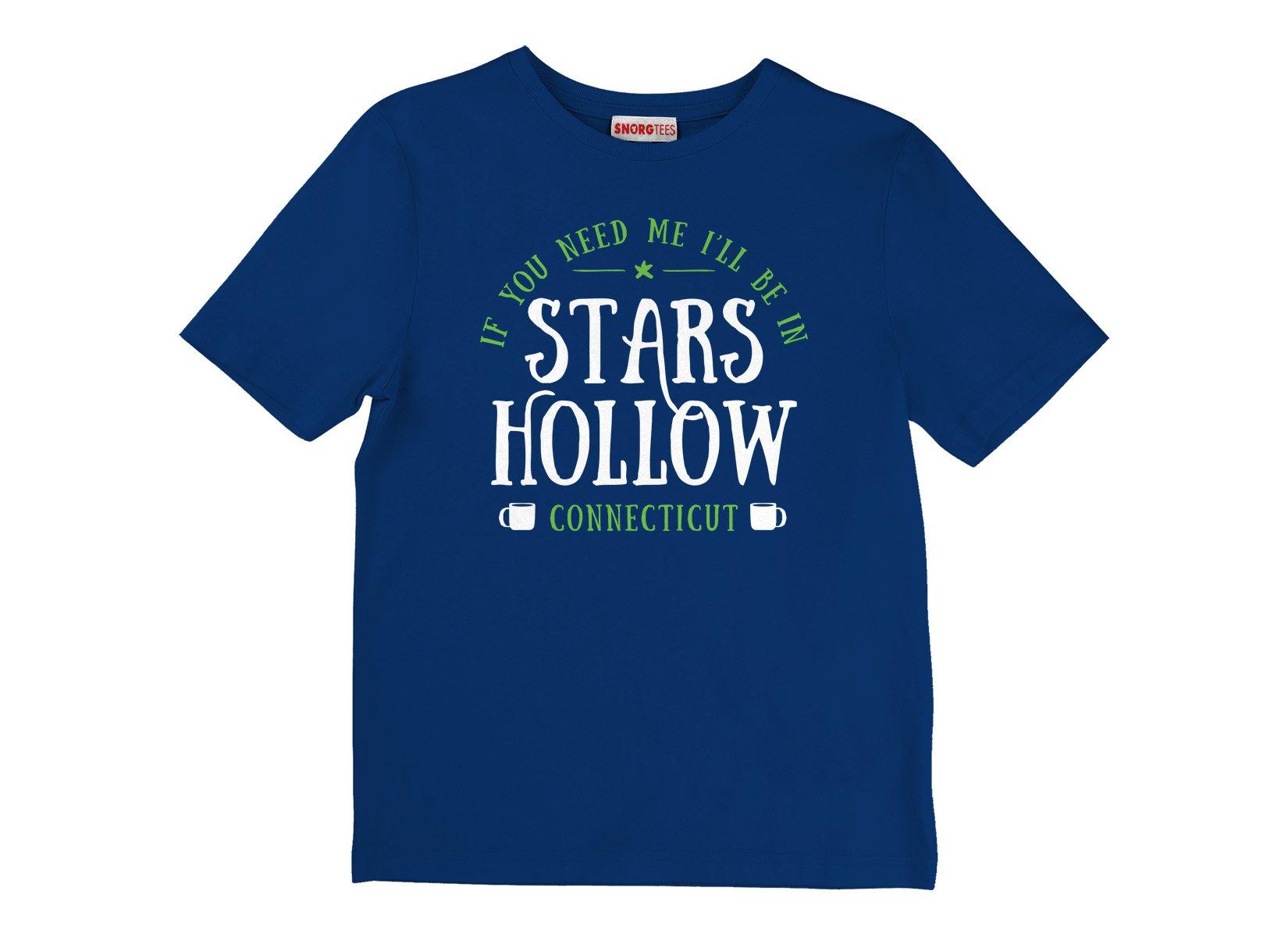 Stars Hollow on Kids T-Shirt
