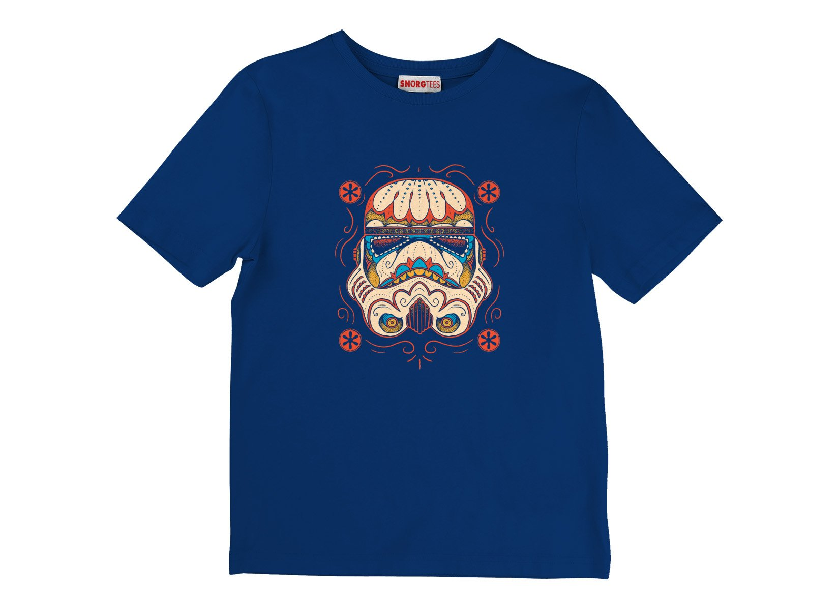 Sugar Skull Trooper on Kids T-Shirt