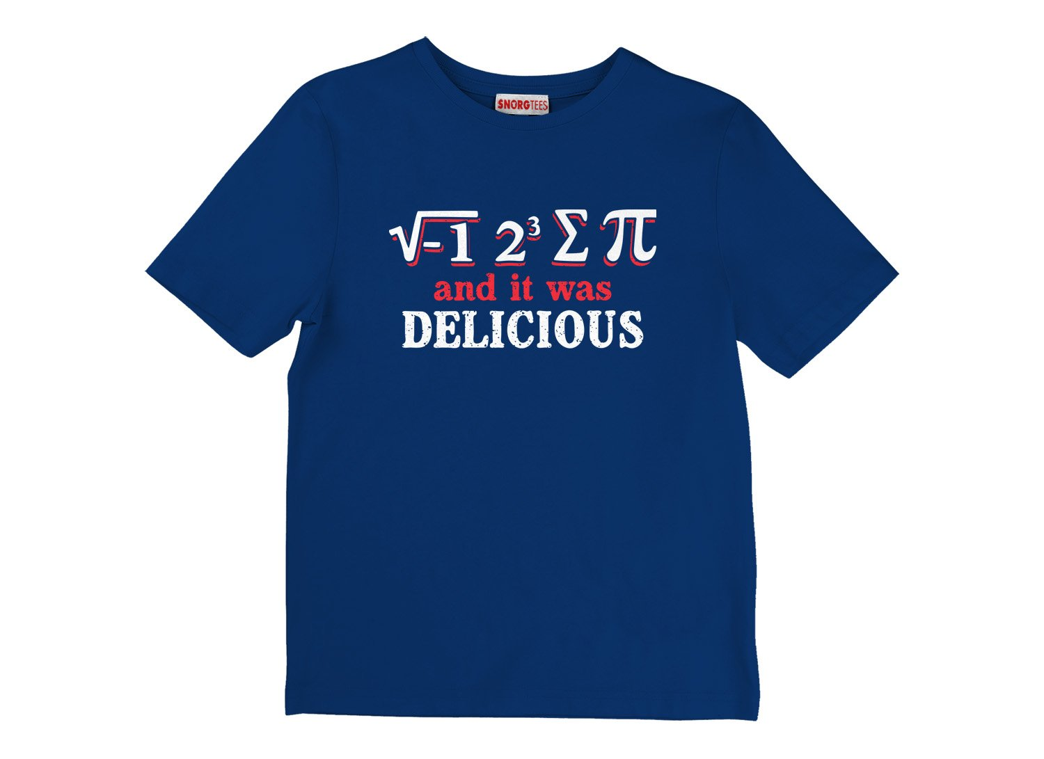 I Ate Sum Pi on Kids T-Shirt