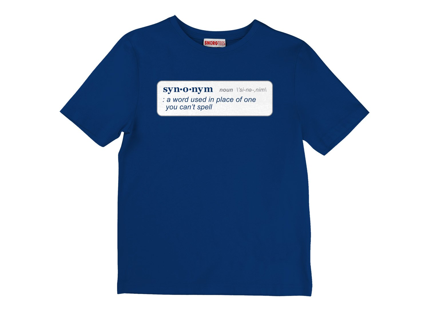 Synonym Definition on Kids T-Shirt