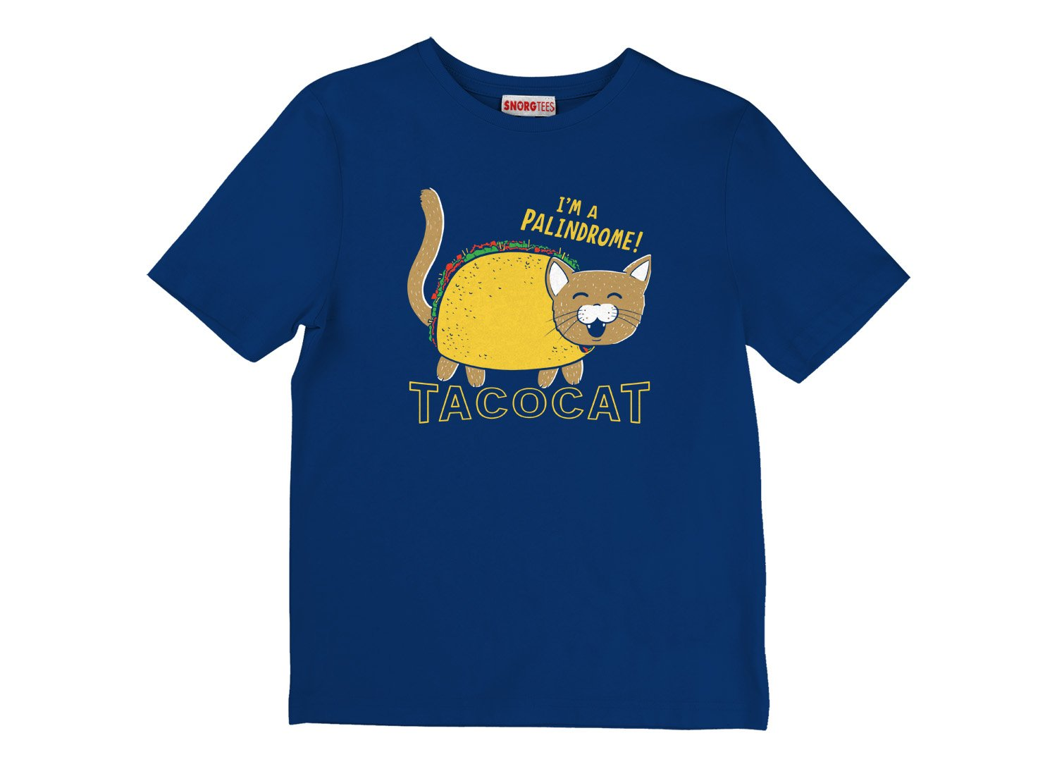 Taco Cat on Kids T-Shirt