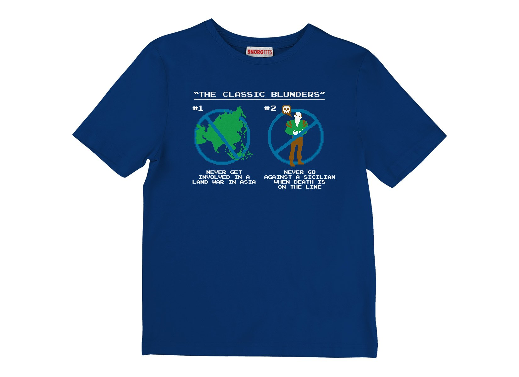 The Classic Blunders on Kids T-Shirt